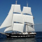 TS Royalist_sailing trials